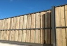 Banks Lap and cap timber fencing 1