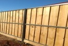 Banks Lap and cap timber fencing 4